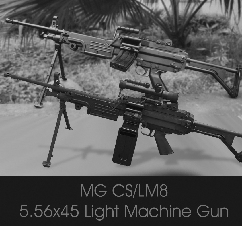 CS/LM8 (5.56mm Light Machine Gun)