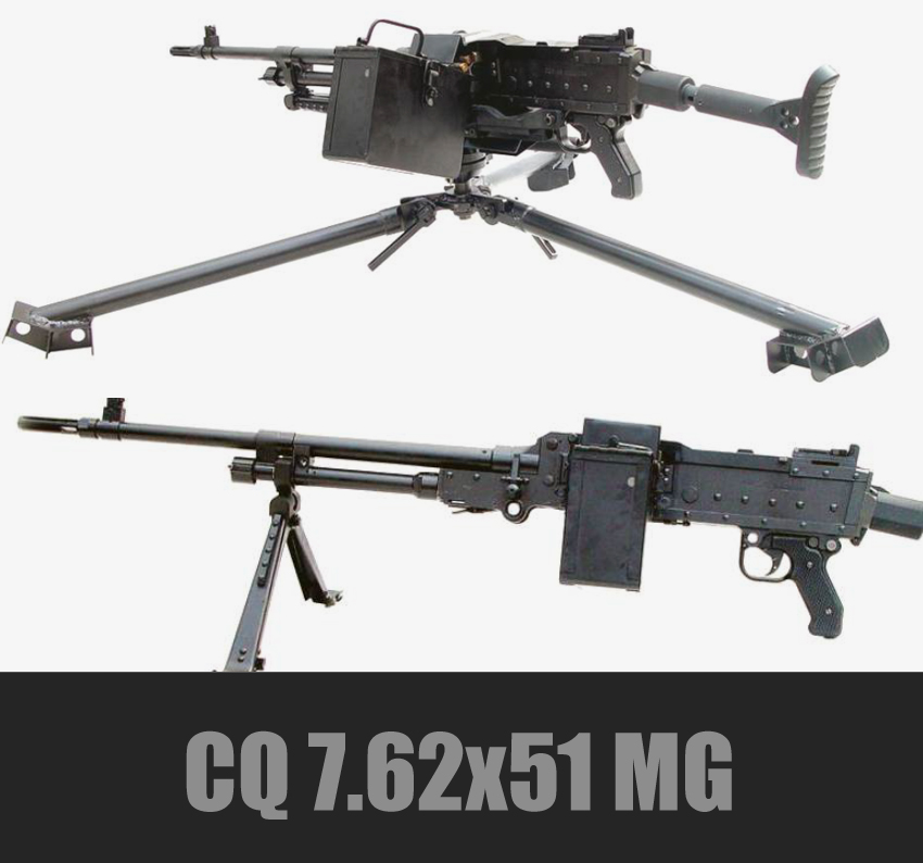 CS CQ 7.62mm General Multipurpose MG (7.62x51N)