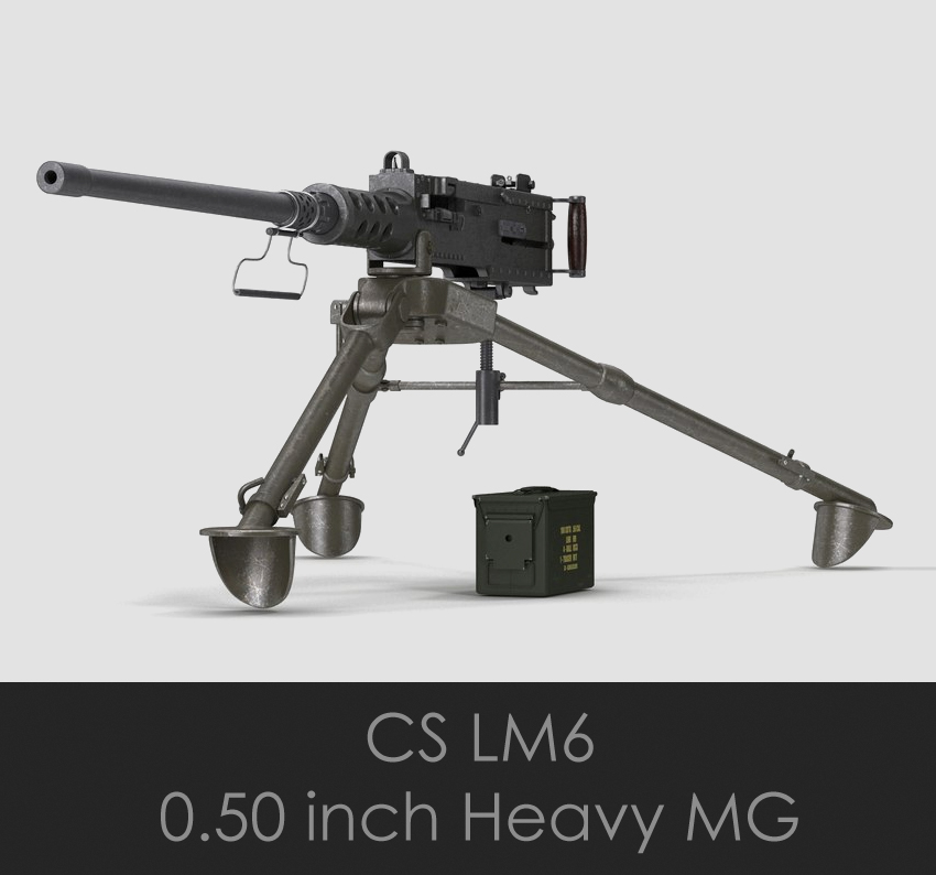 CS/LM6 (.50 Heavy Machine Gun)