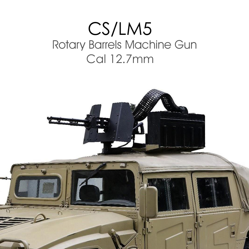 CS/LM5 (12.7mm Rotary Barrel MG)