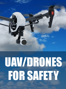 Use drones in security